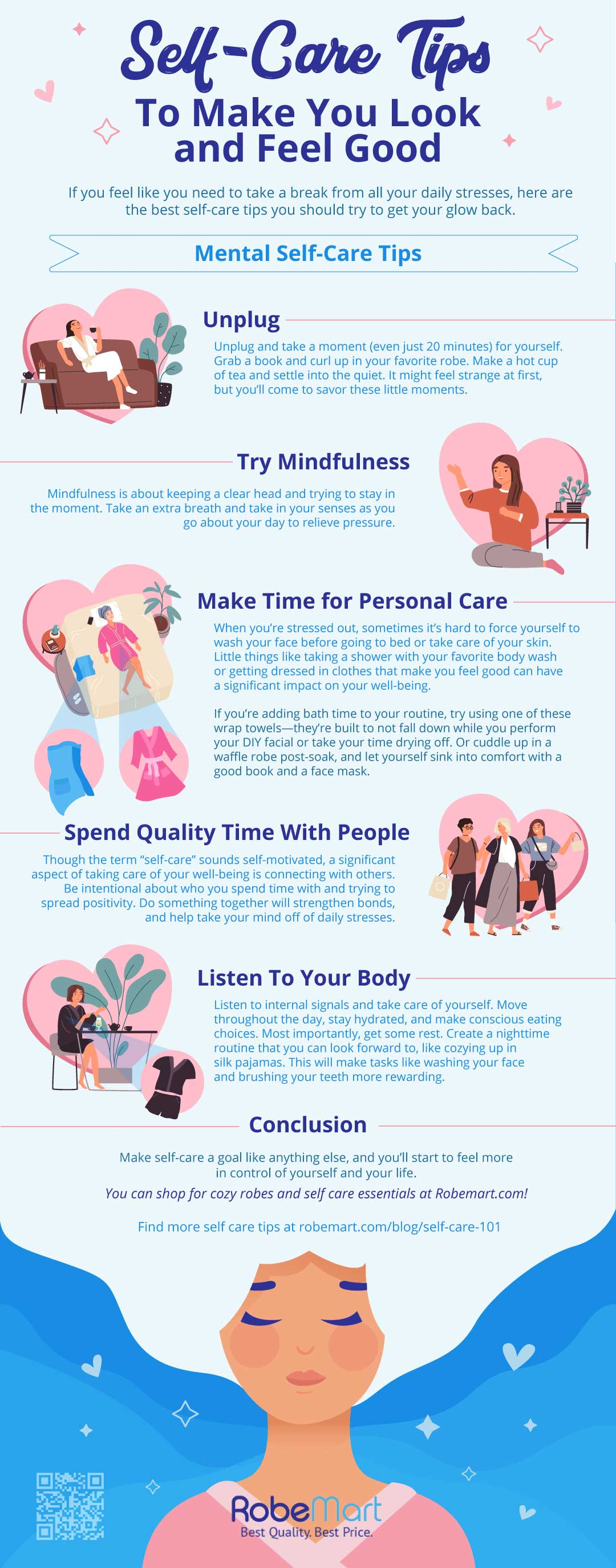 12 Self Care Tips [INFOGRAPHIC]