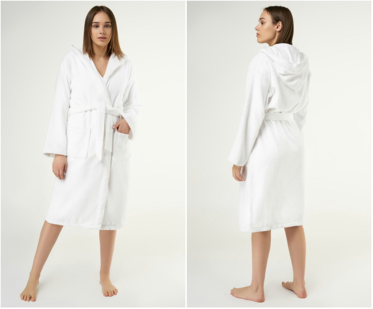 heavy weighted hooded robe | Best Luxury Hotel-Quality Bathrobes That Won't Break The Bank | best bathrobe | luxury bathrobe