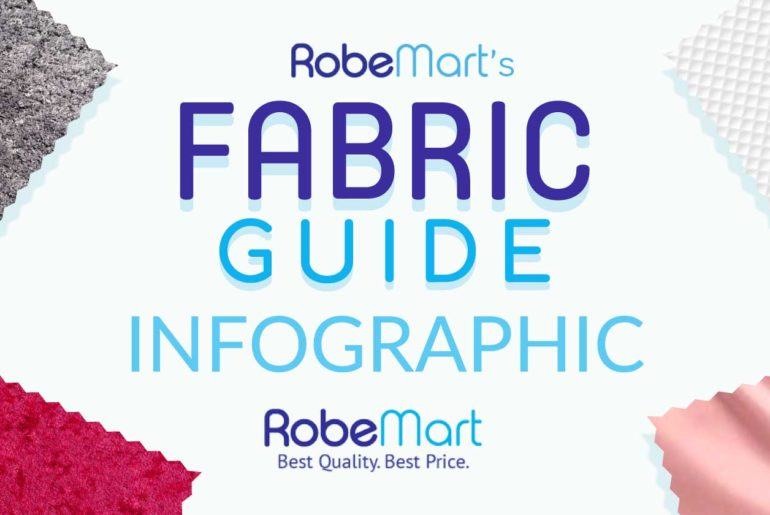 feature image | Choosing The Right Robe: Guide To Robe Fabric Types [INFOGRAPHIC]