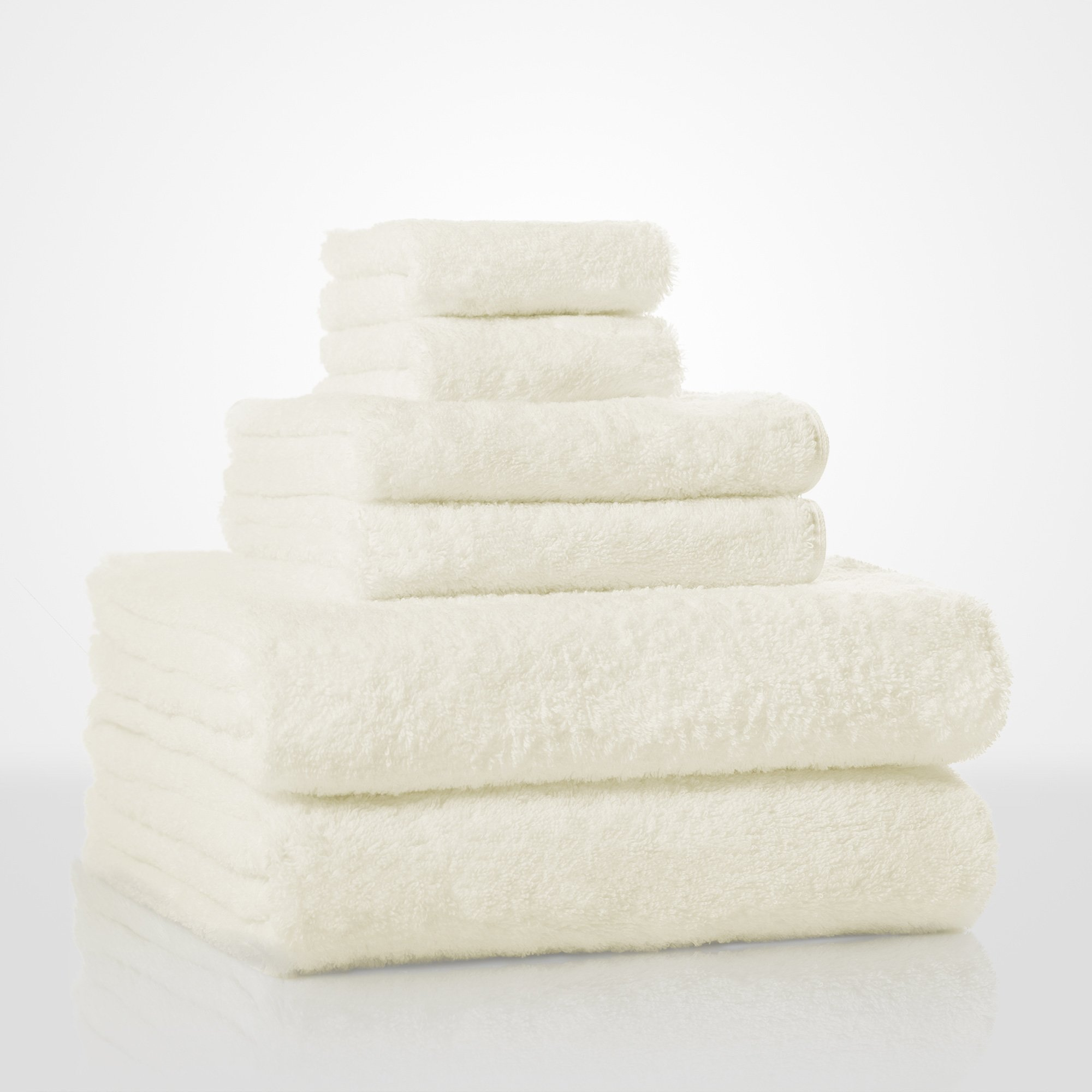 "35""x 60"" - 100% Turkish Cotton Ivory Terry Bath Towel-Robemart.com"