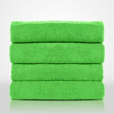"35""x 60"" - 100% Turkish Cotton Lime Green Terry Bath Towel-Robemart.com"