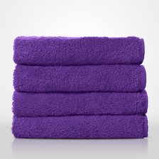 "16"" x 29"" - 100% Turkish Cotton Purple Terry Hand Towel-Robemart.com"