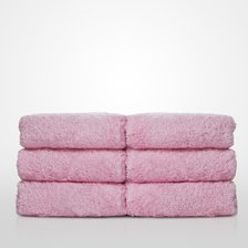 "13"" x 13"" - 100% Turkish Cotton Pink Terry Washcloth-Robemart.com"